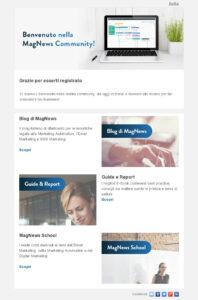 Esempio di Email Nurturing