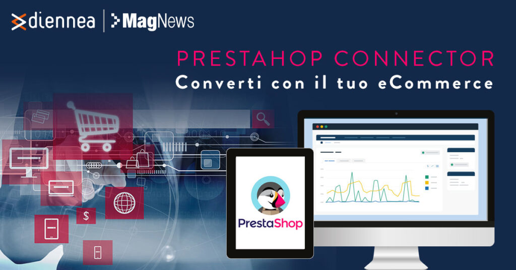 Converti con Prestashop Connector