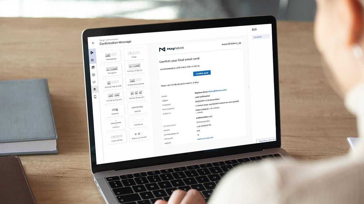 Giotto: l'email editor di Matilda si evolve