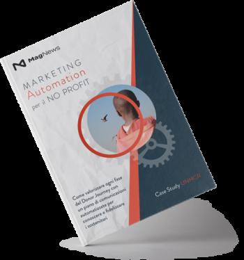 Copertina Guida Marketing Atuomation per No-profit
